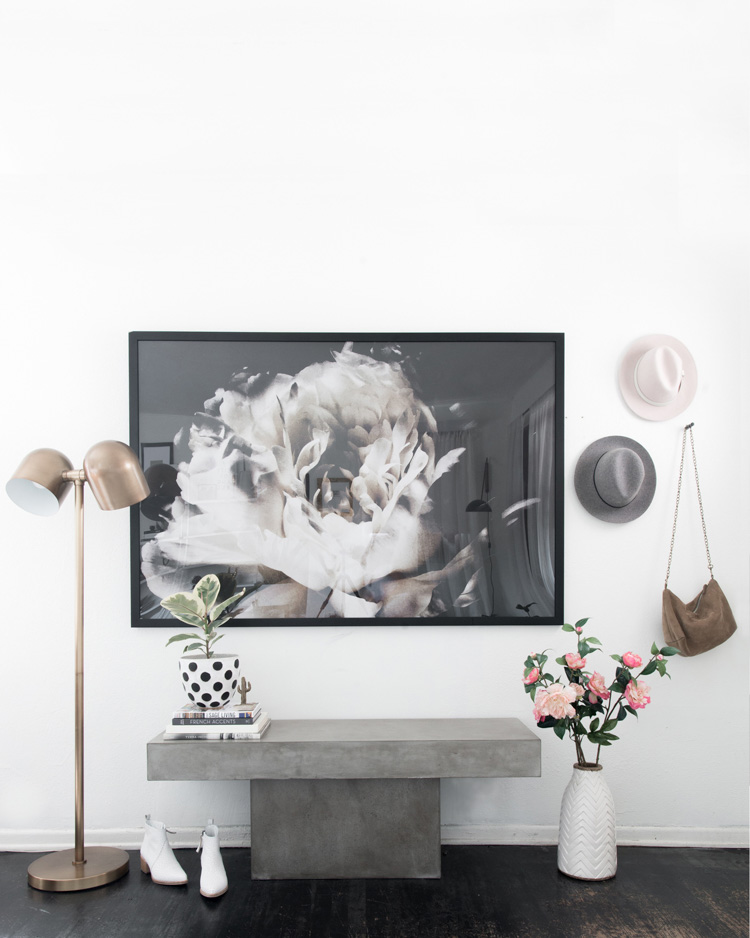 (Photo via Anne Sage/Design Sponge. Art: Ashley Woodson Bailey)