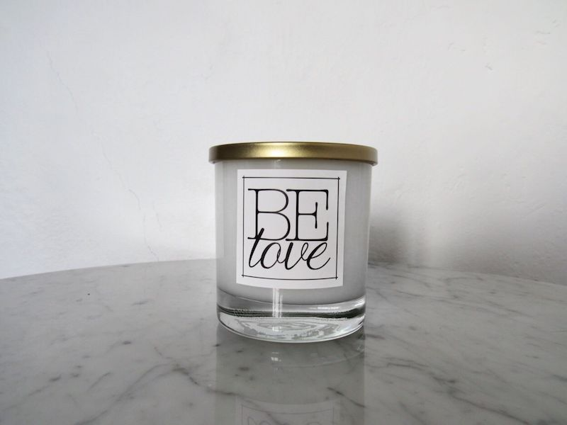 BE candles by Brittaney Elise.