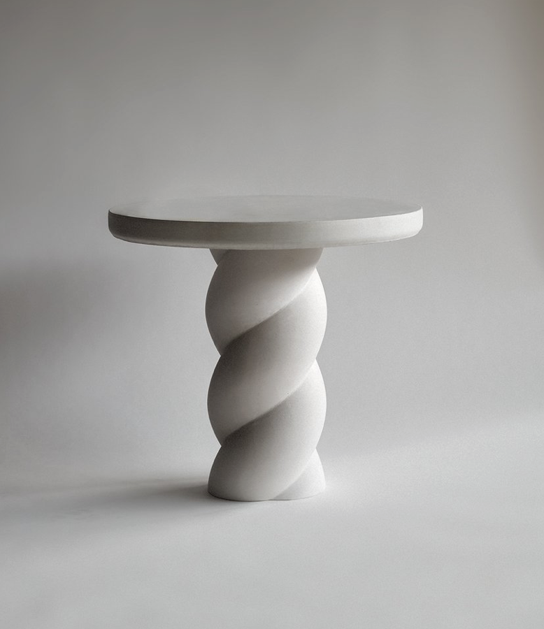 Twisted Side Table by Sophie Davies