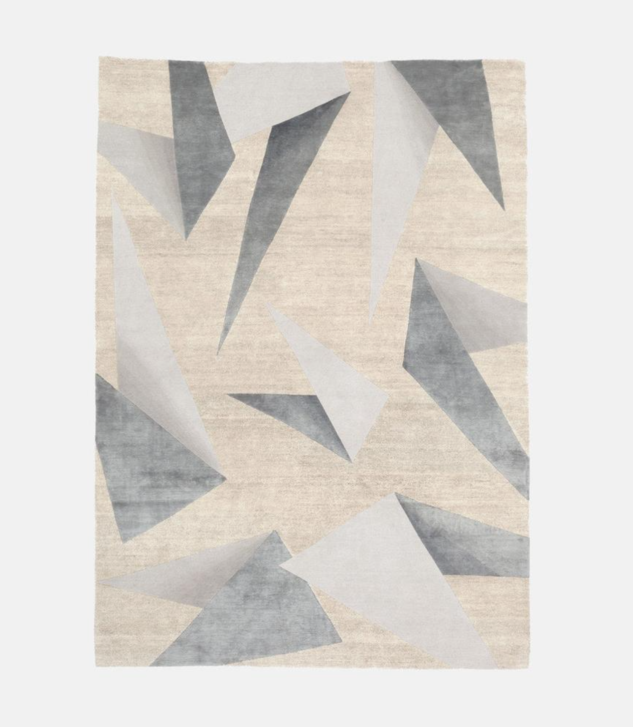 Dipped Origami Rug by Monologue London